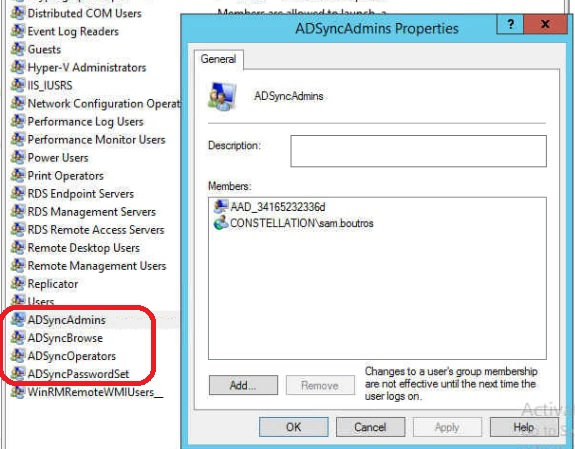 Setting up Azure AD Connect, 2-way directory synchronization